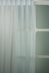 Vitrage polyester wit